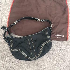 Coach Hobo Bag Black with Dust Bag